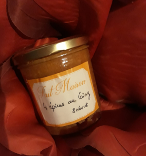 Confiture 4 �pices au coing